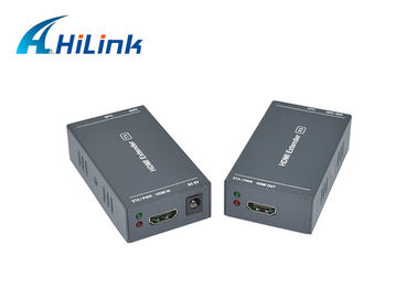 China HDMI Utp Fiber Media Converter 1080P 3D Over Cat6 Supports EDID Copy Function distributor