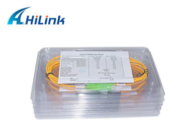 China 0.9mm 1m WDM Solution FWDM T1600-1670 R1290-1580nm SC APC Connector Long Lifespan distributor