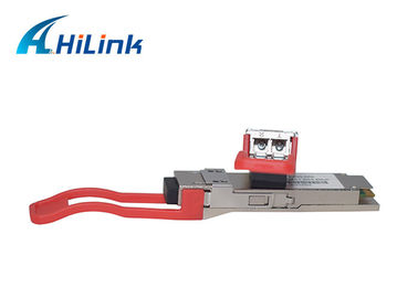 China 1310NM Optical Transceiver Module Hilink 40G-QSFP-ER4 40km CWDM4 LC Connector distributor