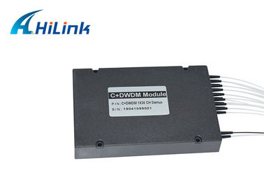 China ABS Box CWDM Mux Demux Module Hilink 1X30CH Demux Optical WDM Equipment Low PDL distributor