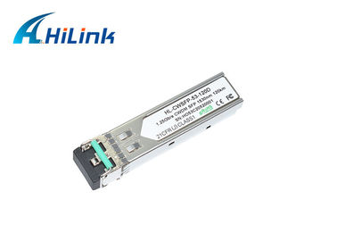 China CWDM MUX SFP Transceiver Module 1000base 1.25G 120KM 1530nm DOM LC Connector distributor