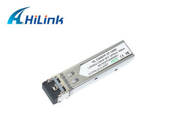 China FTTX 1.25G 1270nm 100Km CWDM SFP Transceiver Module distributor